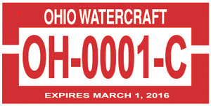 Ohio Watercraft Registration